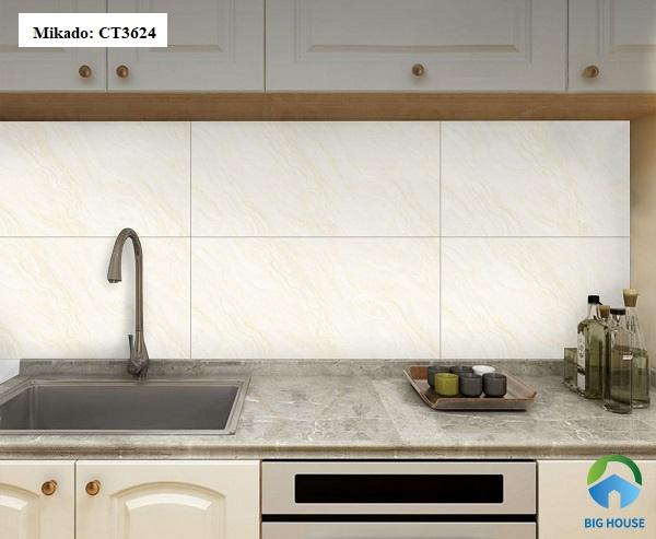 gạch giả đá ốp bếp 1
