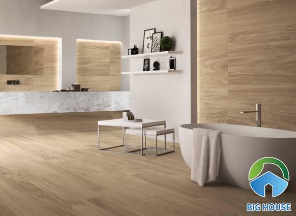 Kinh nghiệm phối chọn gạch giả gỗ 200x1200 đạt thẩm mỹ tuyệt đối