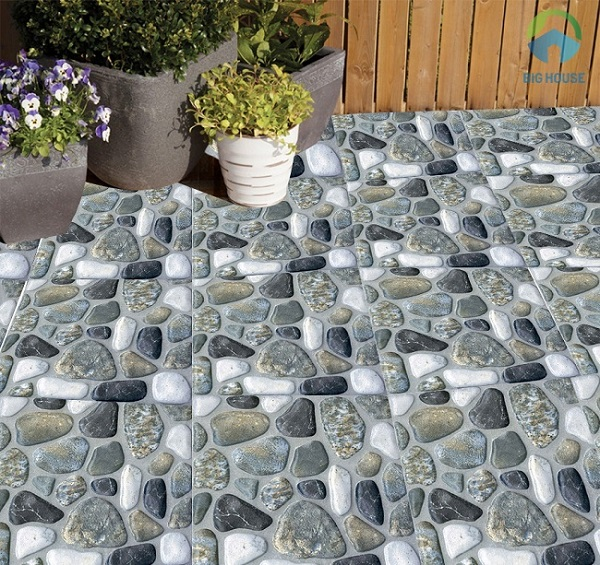 Ngoài công năng lát nền, dòng gạch này còn được sử dụng để trang trí