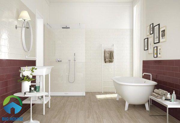 gạch gỗ lát nhà tắm