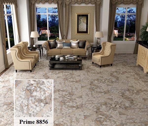 Ấn tượng với mẫu gạch giả đá Prime 8856 họa tiết sắc nét, chân thực lát nền phòng khách