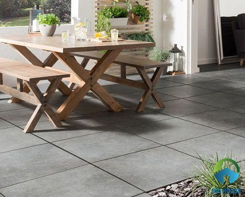 Kinh nghiệm sử dụng Gạch Granite lát sân vườn Bền – Đẹp