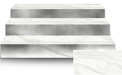 Mẫu gạch giả đá tông trắng đẹp mắt phù hợp nhiều không gian