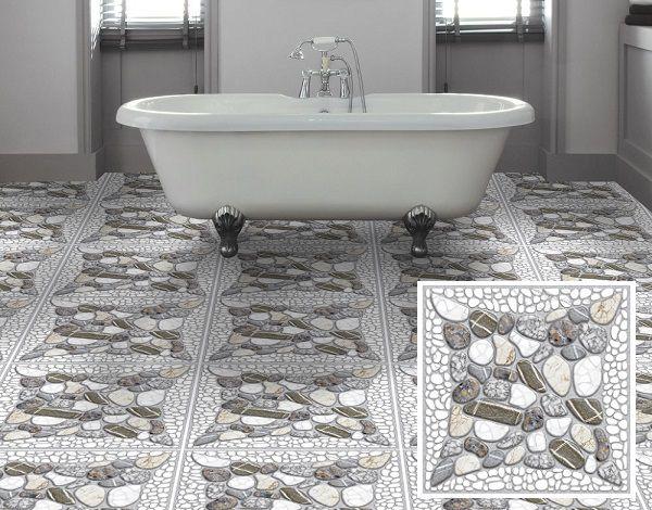 Mẫu gạch lát nền nhà vệ sinh 25x25 chống trơn hiệu quả