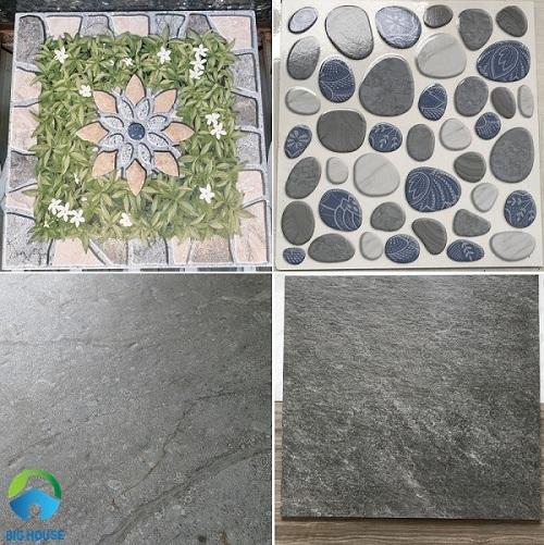 Các bề mặt gạch giúp chống trơn hiệu quả
