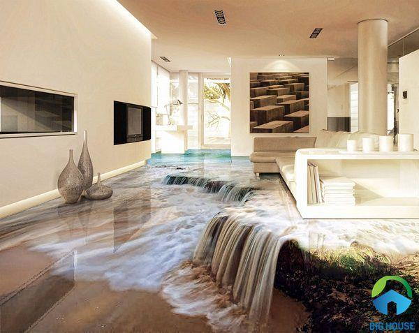TOP 25 mẫu gạch lát nền 3D phòng khách Đẹp – Sang trọng – Tinh tế