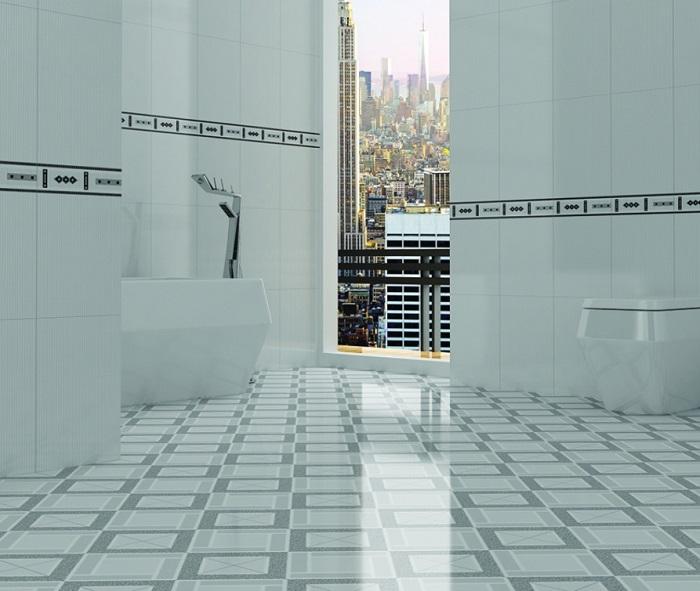 gạch lát nền ceramic nhà tắm