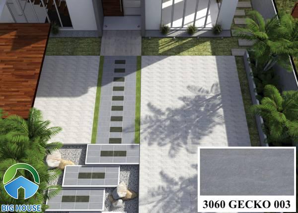 Gạch lát nền màu ghi xám Đồng Tâm 3060GECKO003