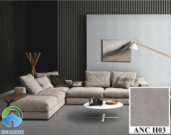 Gạch lát nền màu ghi xám Viglacera ANC H03