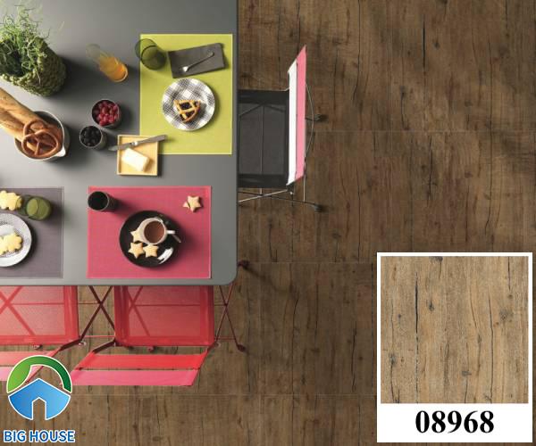 Gạch lát nền màu nâu đất vân gỗ Prime 08968