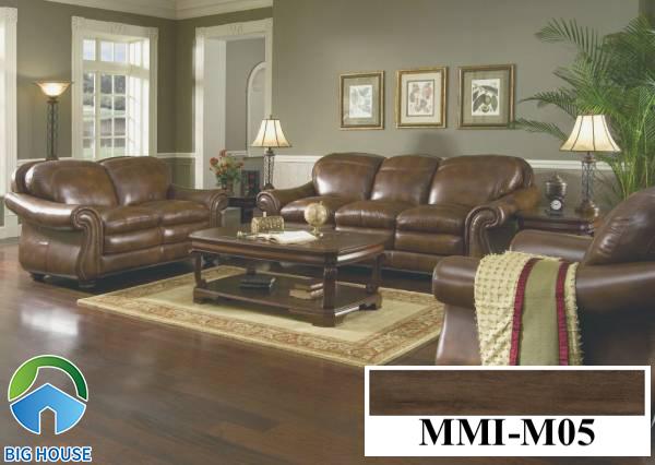 Gạch lát nền màu nâu đất vân gỗ Viglacera MMI-M05