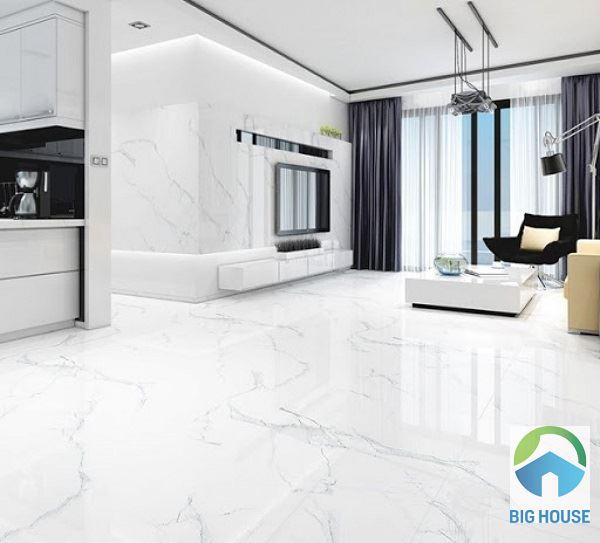 18 Mẫu gạch lát nền màu trắng Cuốn Hút – Giá Tốt nhất 2021