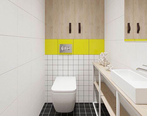Gạch lát nền nhà tắm đơn giản