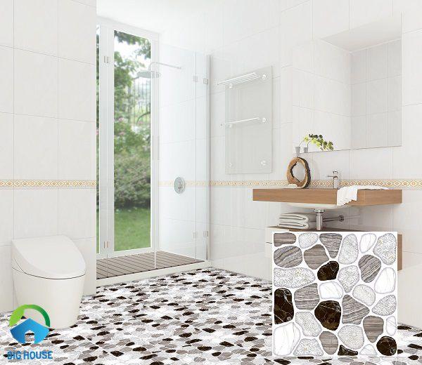 gạch lát nền nhà vệ sinh prime định hình giả sỏi