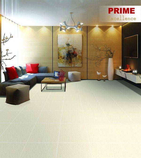 Gạch giả đá lát phòng khách 60x60 giúp mở rộng không gian hiệu quả