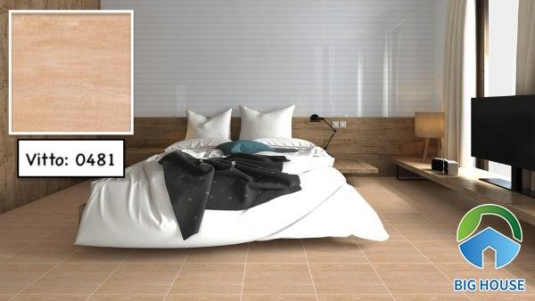 Gạch lát nền phòng ngủ Vitto 0481
