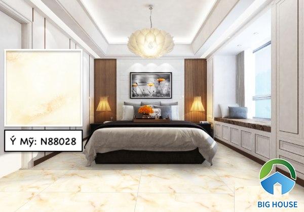 Gạch lát nền phòng ngủ Ý Mỹ N88028