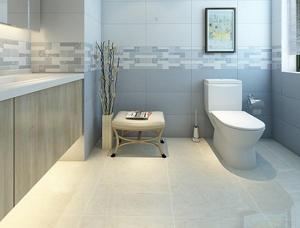 Với những không gian có diện tích nhỏ hơn, gạch lát nền 30x30, 40x40 sẽ là sự lựa chọn tối ưu nhất. Ngoài ra, bạn nên kết hợp ốp gạch 25x40, 30x60 cho các không gian này