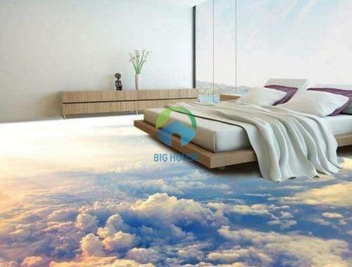 gạch lát phòng ngủ sang trọng