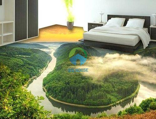 gạch lát phòng ngủ ấn tượng