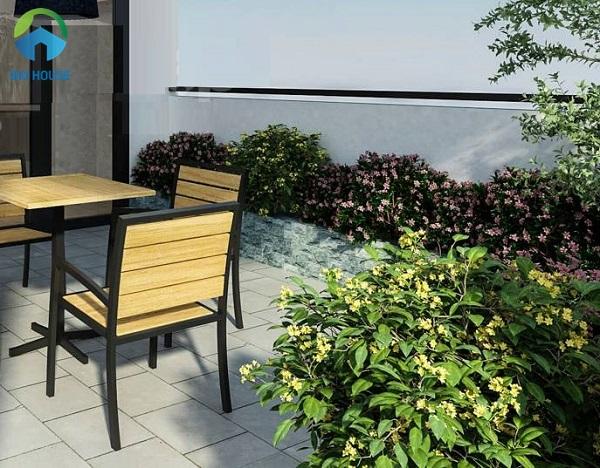 gạch lát sân thượng cần chống trơn và dễ vệ sinh