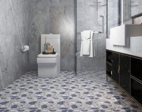gạch lát sàn toilet