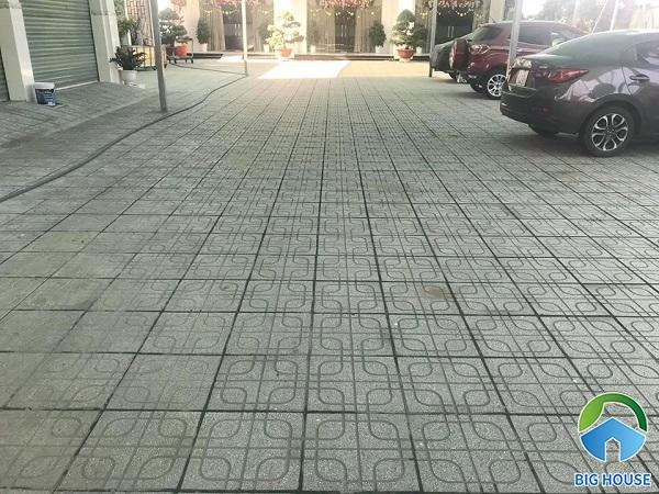 Thêm một mẫu gạch terrazzo lát nền có khả năng chịu lực tác động lớn, ứng dụng lát nền nhiều khu vực