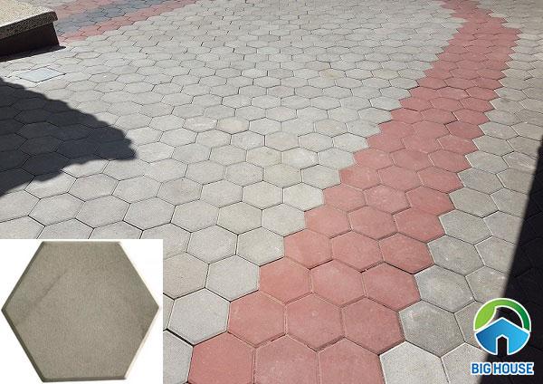 Dòng gạch block lục giác bán rất chạy trên thị trường