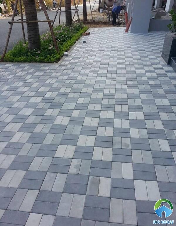 Mẫu gạch lát vỉa hè block, terrazzo giả đá Đẹp – Giá Rẻ 2021