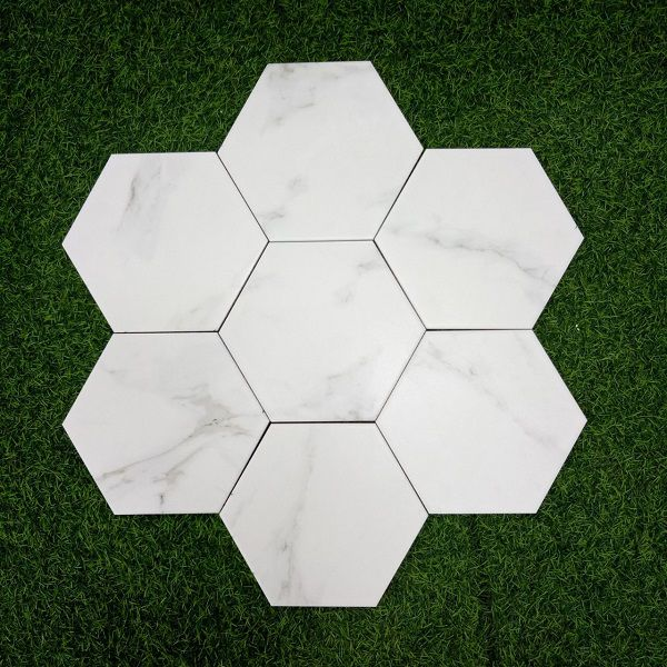 20 mẫu gạch lục giác màu trắng Đẹp Sang Trọng – Tinh Tế 2021