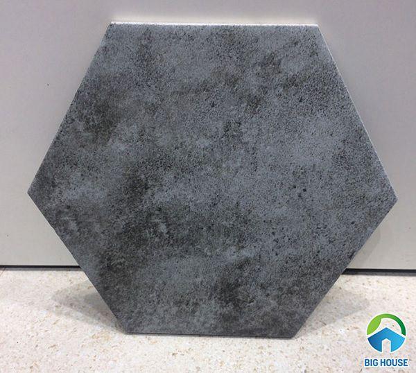 gạch lục giác màu xám