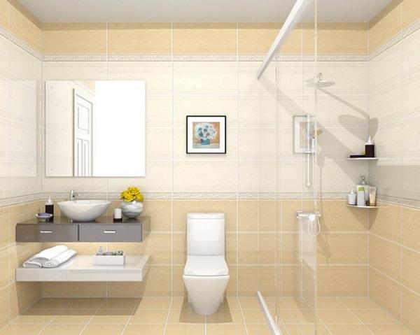 Gạch granite ốp nhà tắm có độ bền lâu hơn so với gạch ceramic