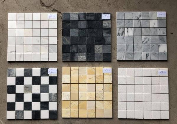 gạch mosaic đá