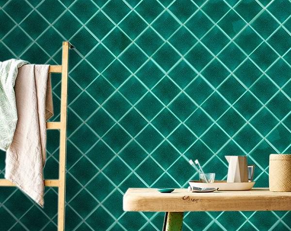 gạch mosaic gốm sứ men rạn ốp tường