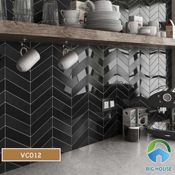 Gạch mosaic màu đen VC012