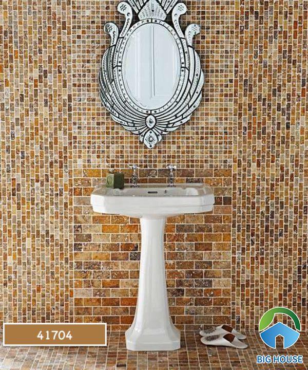 Gạch mosaic màu vàng 41704