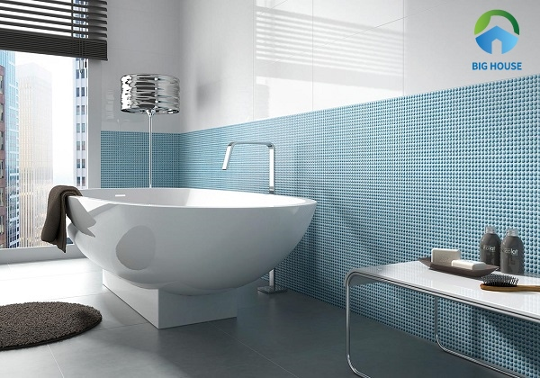gạch mosaic màu xanh 1