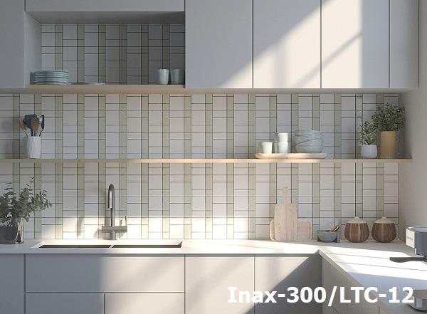 Phòng bếp ốp gạch Inax Lattice LTC-12 đẹp thanh lịch, tinh tế