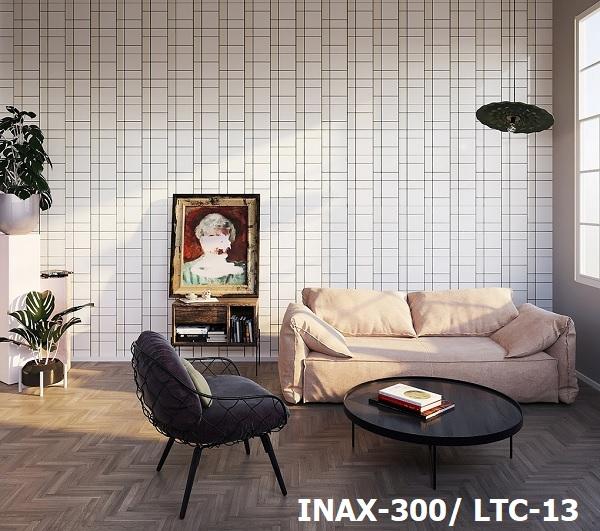 Lấy cảm hứng từ tre, mẫu gạch Inax Lattice LTC-13 mang thiên nhiên vào phòng khách