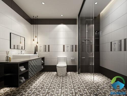 gạch lát nền phòng tắm định hình
