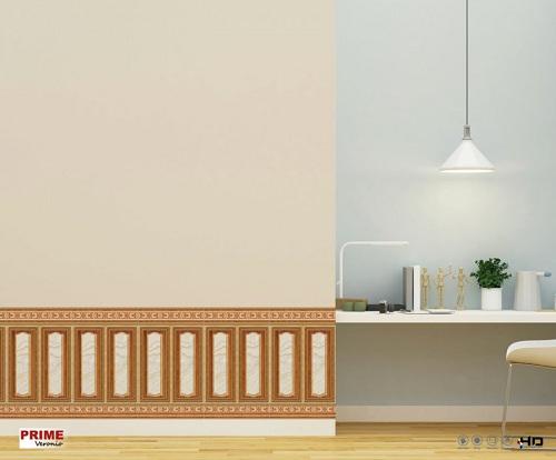 Mẫu gạch ốp chân tường giả gỗ