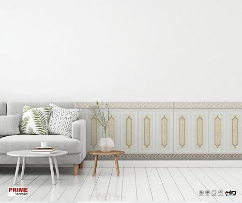Gạch ốp chân tường 50x86 màu sáng phù hợp nhiều không gian