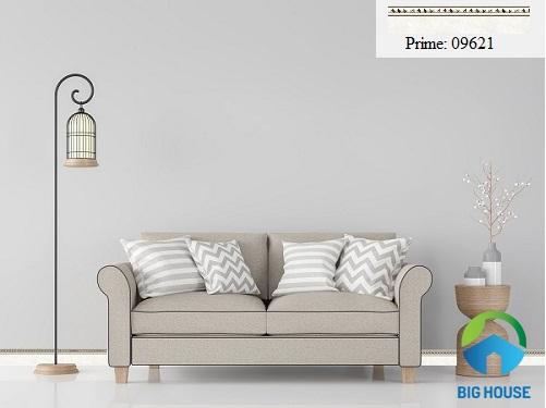 Mẫu gạch ốp chân tường đơn giản cho phòng khách