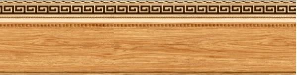 Mẫu gạch giả gỗ dạng thanh cũng được yêu thích sử dụng