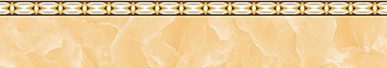 gạch ốp chân tường thấp màu cam vân đá