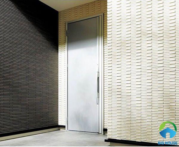 Mẫu gạch thẻ ốp tường ngoài trời độc đáo giúp bảo vệ công trình luôn bền đẹp