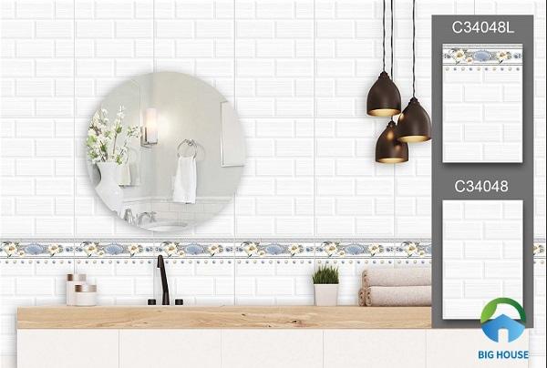 gạch ốp tường nhà tắm đẹp 2