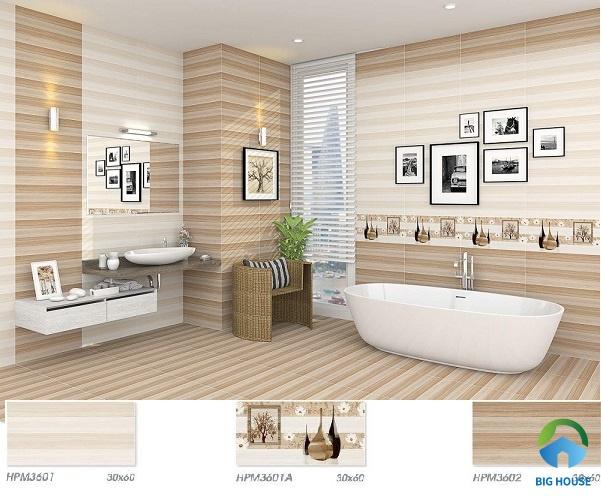 gạch ốp nhà vệ sinh 30x60 viglacera 1