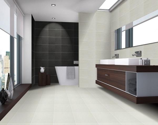 Gạch ốp tường bề mặt men bóng sẽ là sự lựa chọn tối ưu nhất
