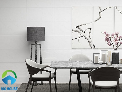 gạch ốp tường 30x60 màu trắng đẹp